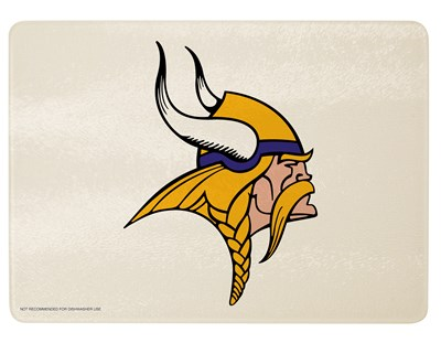 Minnesota Vikings Glass Cutting Board