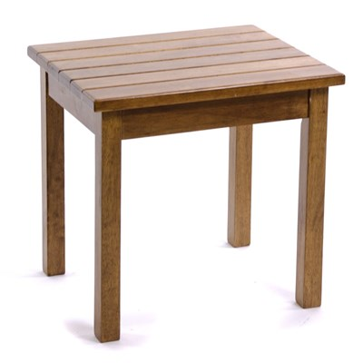 Square-Leg Side Table - Hardwood