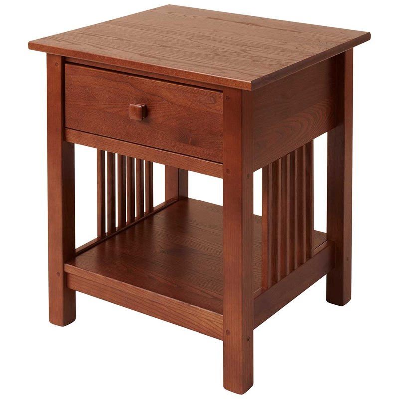 Manchester Wood Mission Style End Table 2