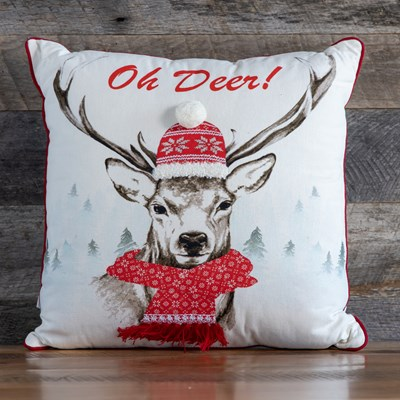 """Oh Deer"" Pillow"