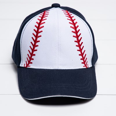 Toddler Baseball Embroidered Cap