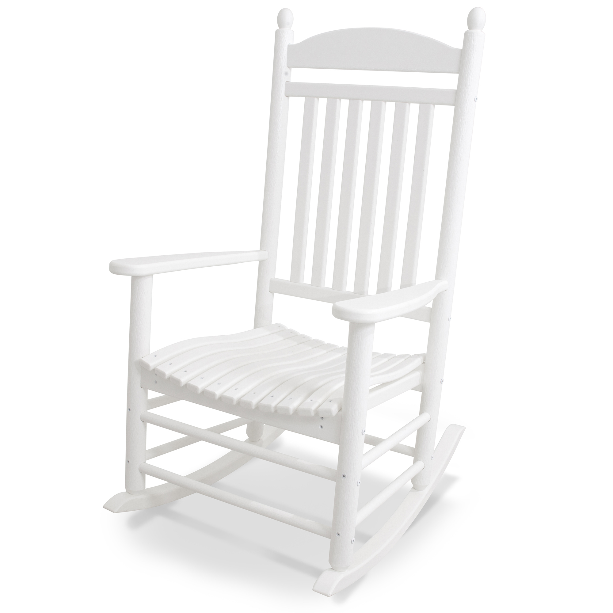 Fine Polywood All Weather Jefferson Slat Rocker Machost Co Dining Chair Design Ideas Machostcouk