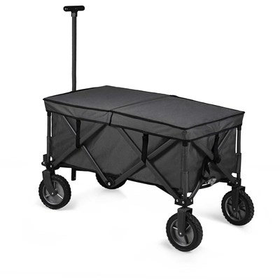 Adventure Folding Utility Wagon with Table and Liner