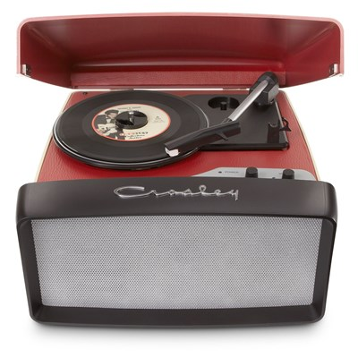 Crosley ® Collegiate Portable USB Record Player - Red