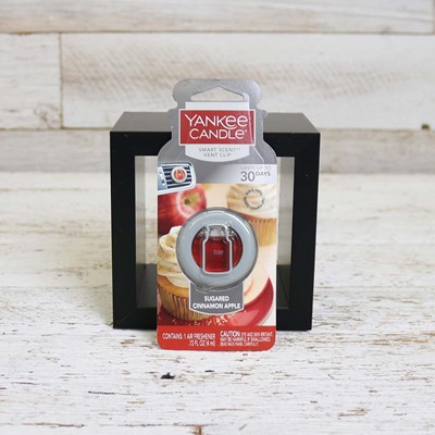 Yankee Candle Sugared Cinnamon Apple Vent Clip
