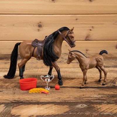 Mare and Pony Play Set