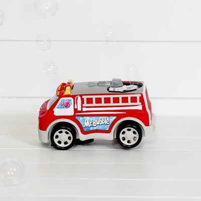 Firetruck Bubble Blower
