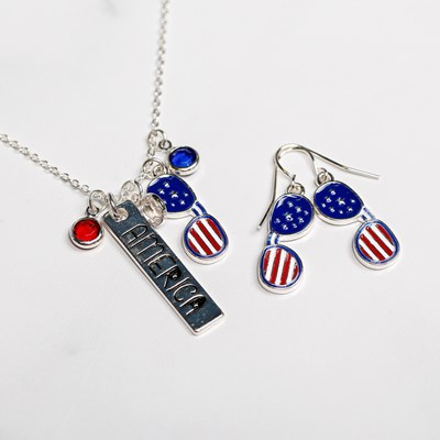 America Charms Necklace