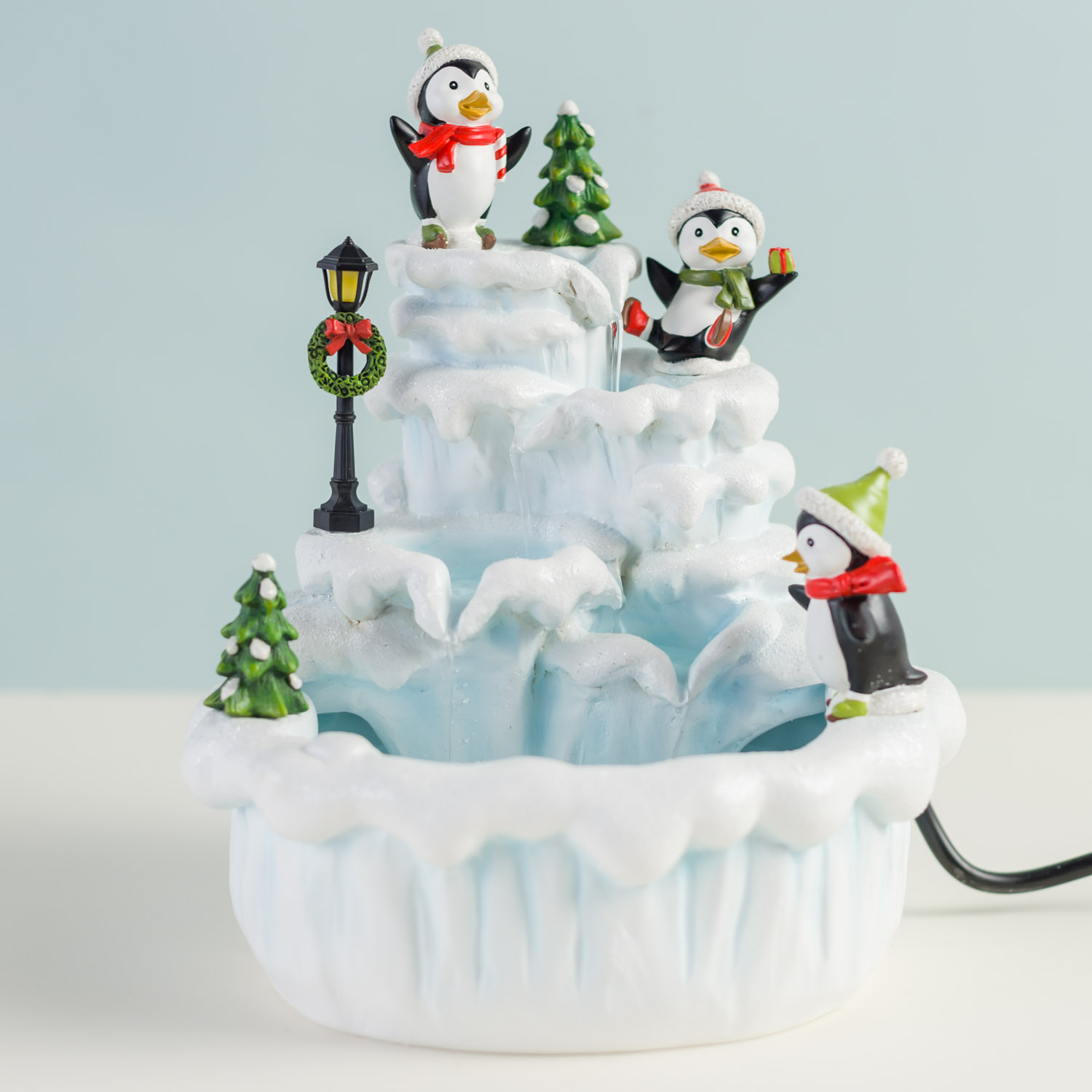 Penguin Fountain - Cracker Barrel Old Country Store