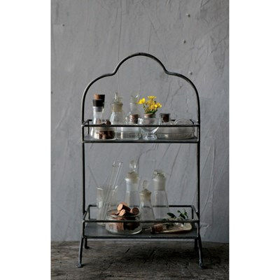 Metal 2 Tier Tray