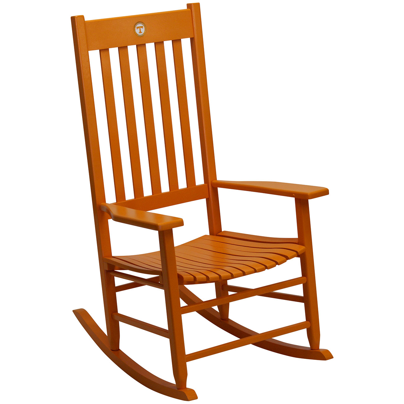 Excellent Team Color Rocking Chair Tennessee Dailytribune Chair Design For Home Dailytribuneorg