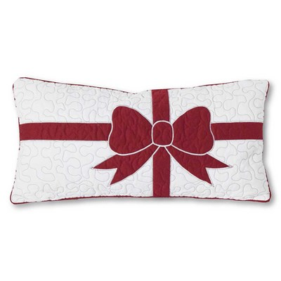 Holly Jolly Decorative Pillow - Present