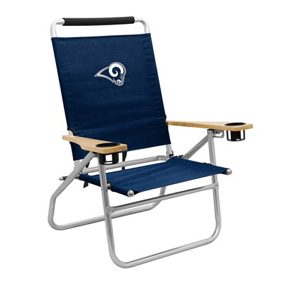 Portable Beach Chair - Los Angeles Rams