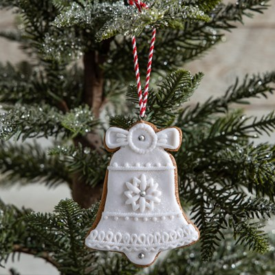 Oh Gussie! Claydough Bell Ornament
