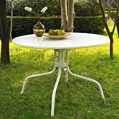 "Griffith Metal 40"" Dining Table"