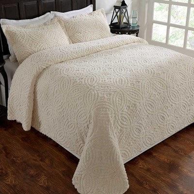 Vicky Chenille Bedspread King
