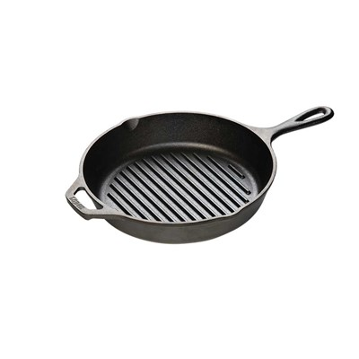 "Lodge ® 10.25"" Cast Iron Grill Pan"