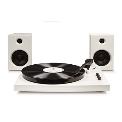 Crosley ® T100 Record Player and Speaker System - White