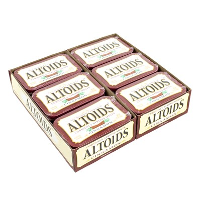 Altoids Cinnamon Mints - 12 Count