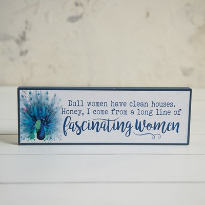 Dull Women Sign