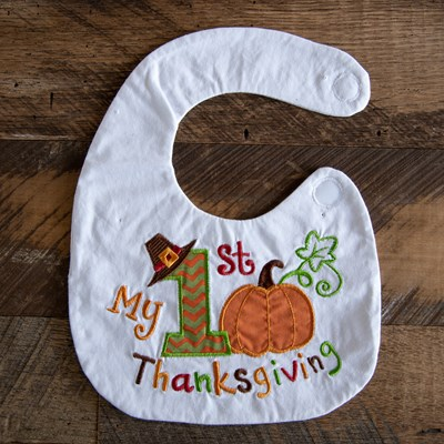 """My 1st Thanksgiving"" Bib"