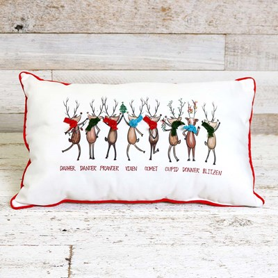 Christmas Reindeer Pillow