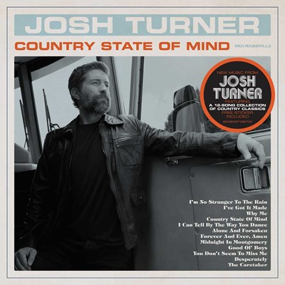 Josh Turner - Country State of Mind CD