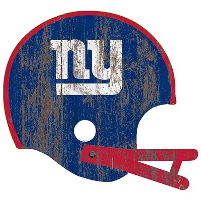 New York Giants - Distressed Helmet