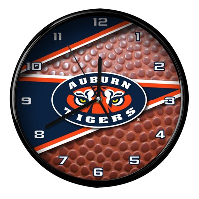 Auburn - Football Clock