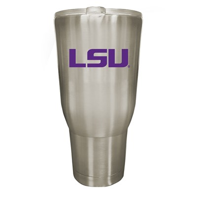Lsu 32oz Stainless Steel Tumbler
