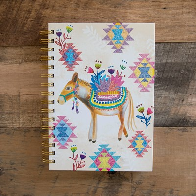 Donkey Spiral Journal