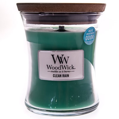 WoodWick ® Clean Rain Medium Candle