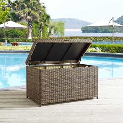 Bradenton Wicker Storage Bin
