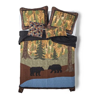 Two Bears Quilt by Donna Sharp - King
