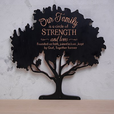 """Our Family"" Wall Decor"
