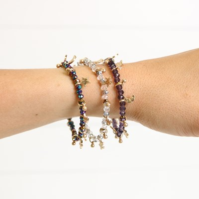 3 piece Beaded Bracelet Set