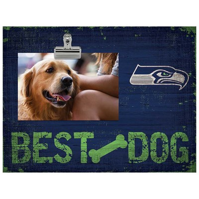Seattle Seahawks - Best Dog Clip Frame