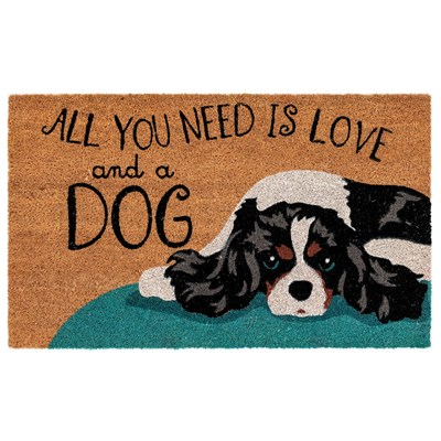 Love And A Dog Doormat