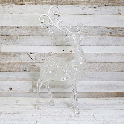 Lighted Acrylic Deer - Large