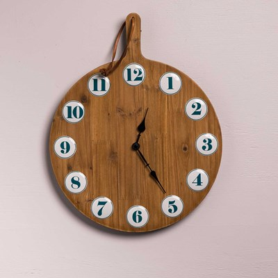 Decorative Cutting Board Wall Clock