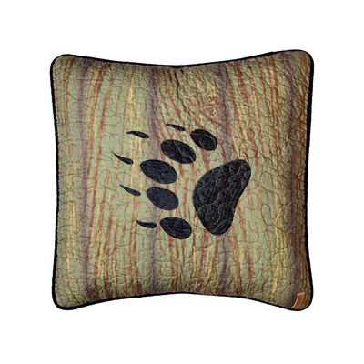 Oakland Bear Paw Decorative Pillow by Donna Sharp