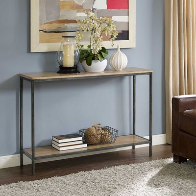 Brooke Console Table in Washed Oak