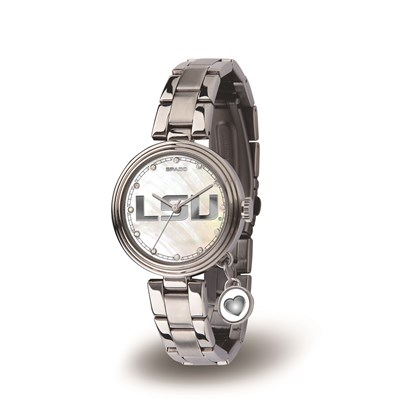 Ladies Charm Watch - LSU