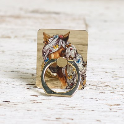 Horse and Butterfly Phone Ring