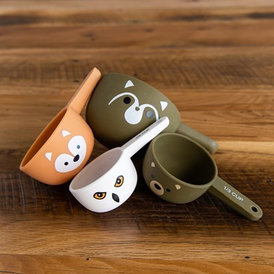 Animal Measuring Cups - Set of 4