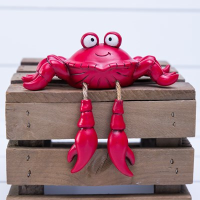 Crab Shelf Sitter