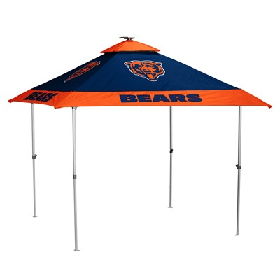 Solar-Powered LED Tailgate Tent - Chicago Bears