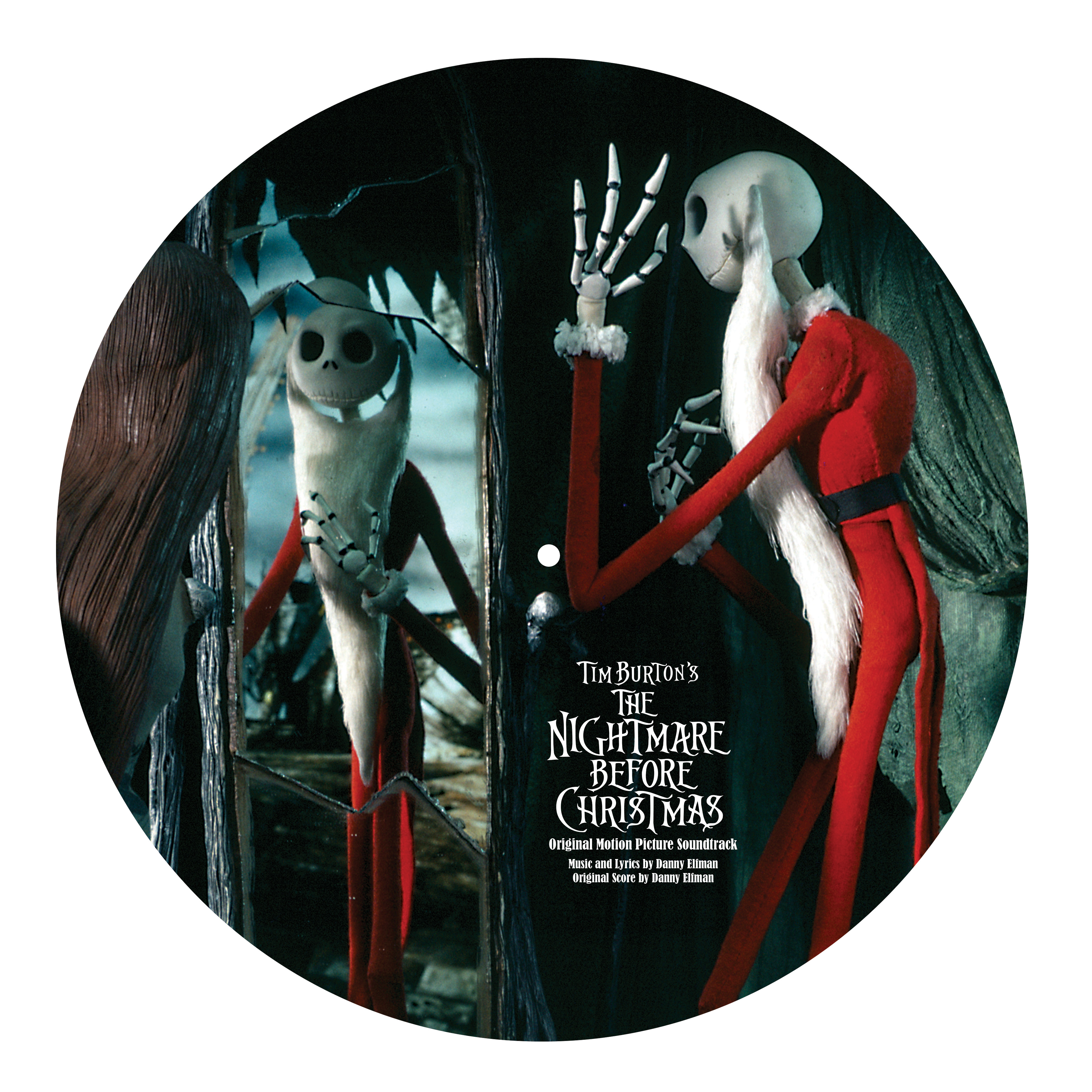 Nightmare Before Christmas Soundtrack Vinyl - Cracker Barrel Old ...
