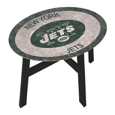New York Jets - Team Color Side Table