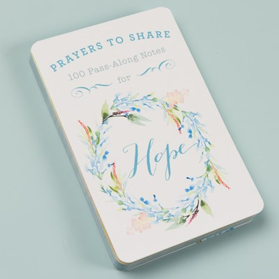 """Prayers to Share Hope"" Notecards"